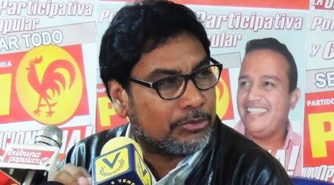 Oscar Figuera, secretario general del Partido Comunista de Venezuela