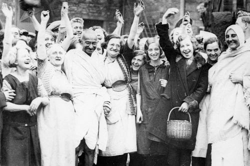 Gandhi in UK 1931