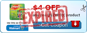$4.00 off any one (1) ZYRTEC product