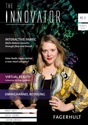 The Innovator #9 – Futuristic retail cover