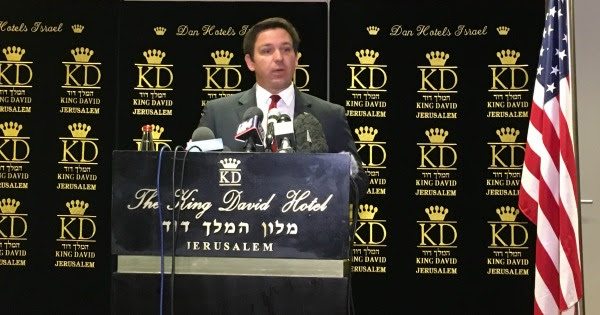 Israel Uncensored: Congressman DeSantis: US Embassy will Move to Jerusalem