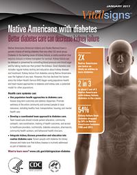 Native Americans with Diabetes Facsheet