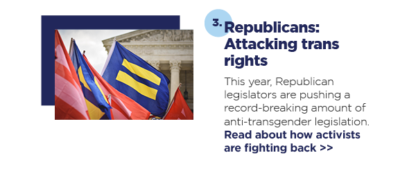 3. Republicans: Attacking trans rights