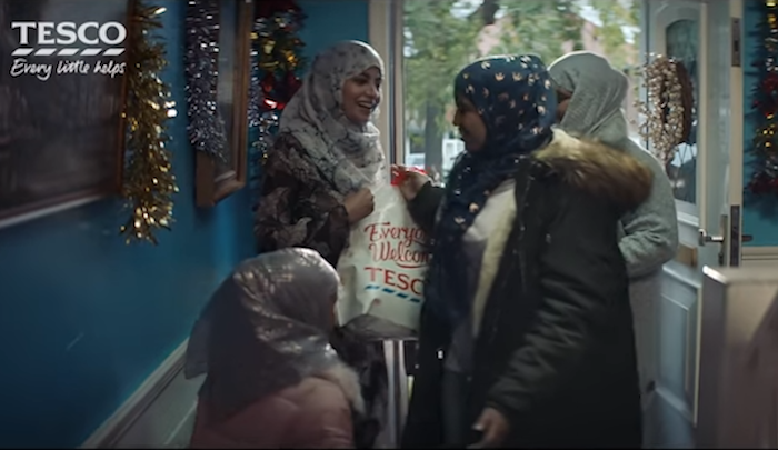 "UK: LBC, Muslim ""reformer"" Maajid Nawaz denounce opposition to hijabbed Muslims in Christmas ad as ""racist"""