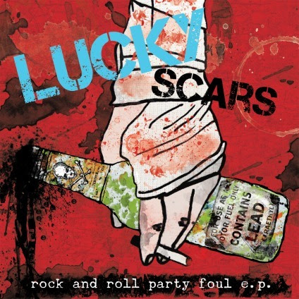 lucky scars cover art