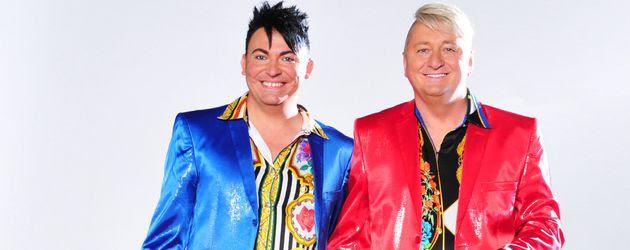 """Das """"Hot der Schrott"""" TV-Paar Hubert Fella und Matthias Mangiapane"""