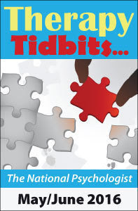 Therapy Tidbits - May