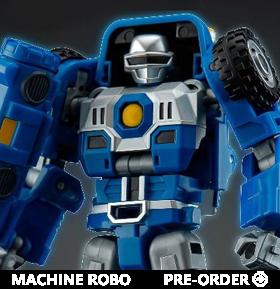 Machine Robo 12 Buggy Robo