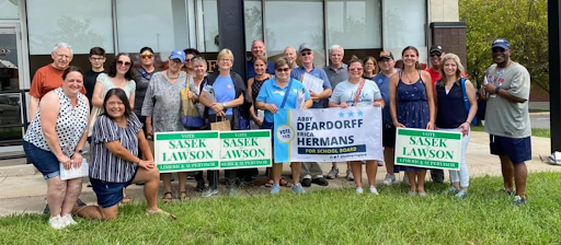 Turn PA Blue canvassers