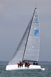 J/111 MAJIC 2 sailing offshore