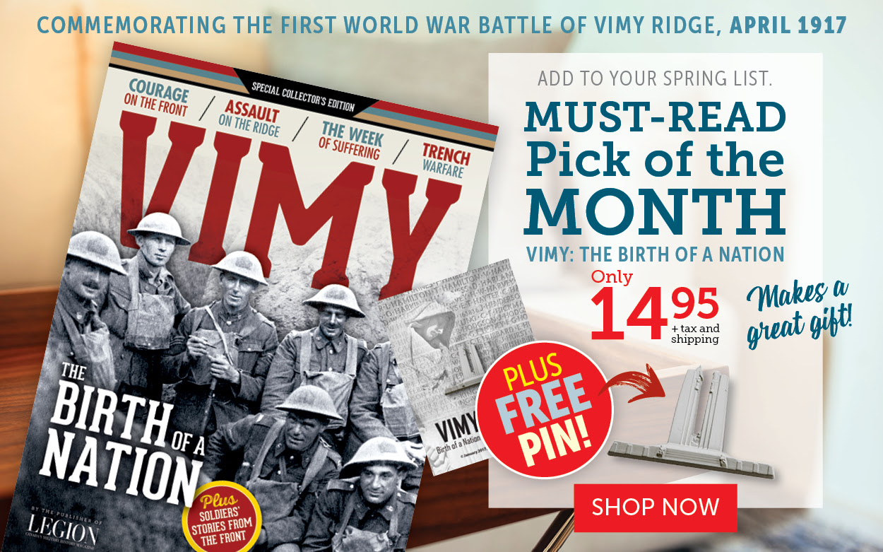 Vimy Ridge - Must Read Pick of the Month