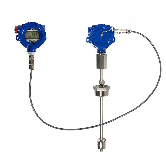 Self-contained Intrinsically Safe Measurement and Contol System