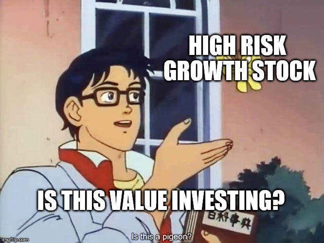 High Risk Growth Stock