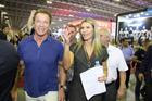 Schwarzenegger e Ana Paula Leal (Patrick Rocha / Savaget)