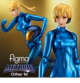 OTHER M ZERO SUIT SAMUS ARAN FIGMA FIGURE