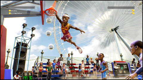 NBA Playgrounds will be available on May 9 in Nintendo eShop for the Nintendo Switch console. (Photo ...