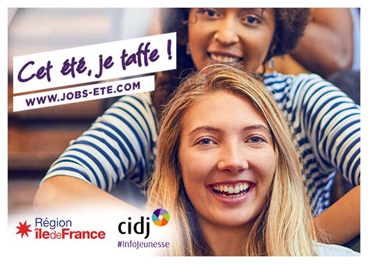 Les offres de jobs d'été arrivent au CIDJ et dans le réseau #InfoJeunesse