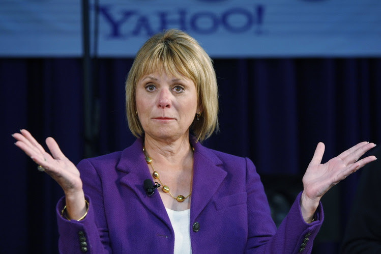Former Yahoo CEO Carol Bartz informed employees in an email in 2011 that she had been fired.
