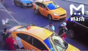 Video from Russia: Muslim deliberately plows car into Moscow crowd, eight injured