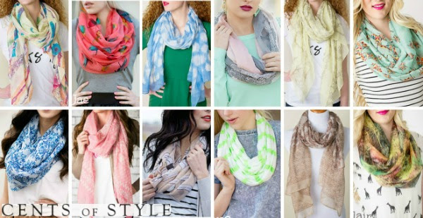 IMAGE: Scarves Starting at $3.98 & FREE SHIPPING