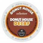 Donut House Collection Donut House Decaf Keurig Kcup coffee