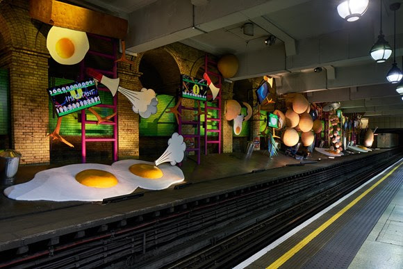 TfL Press Release - Art on the Underground unveils most ambitious artwork in its history by British artist, Heather Phillipson