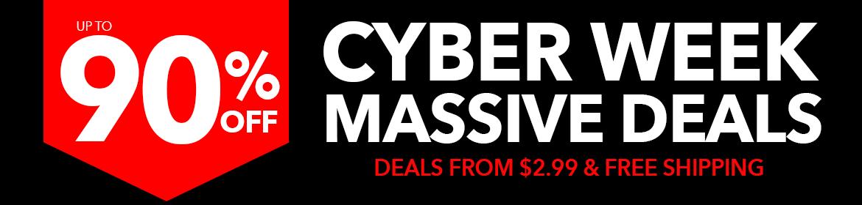Cyber Week Mania - Deals Under...