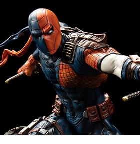 DC PREMIUM COLLECTIBLES DEATHSTROKE STATUE