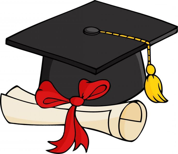 Image result for cartoon: high school graduation