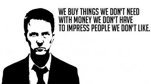 Image result for consumerism in fight club