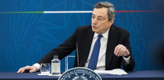 """DRAGHI AI MINISTRI G20: """"PRENOTATE LE VACANZE IN ITALIA, A METÀ MAGGIO PASS ITALIANO E A GIUGNO QUELLO EUROPEO"""""""