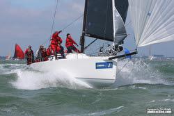 J/111 sailing J/Cup Regatta