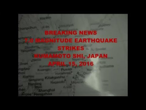 Massive Earthquake Hits Kumamoto Shi, Japan April 15, 2016  Hqdefault