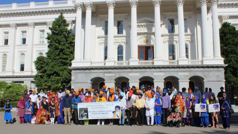 Sikhs and Christians Rally in Sacramento for Dying Indian Hunger-Striker