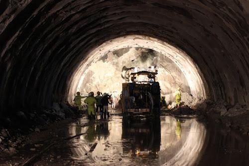 hầm Cổ Mã, dự án,hạng mục, đầu tư, khoan, Phú Yên