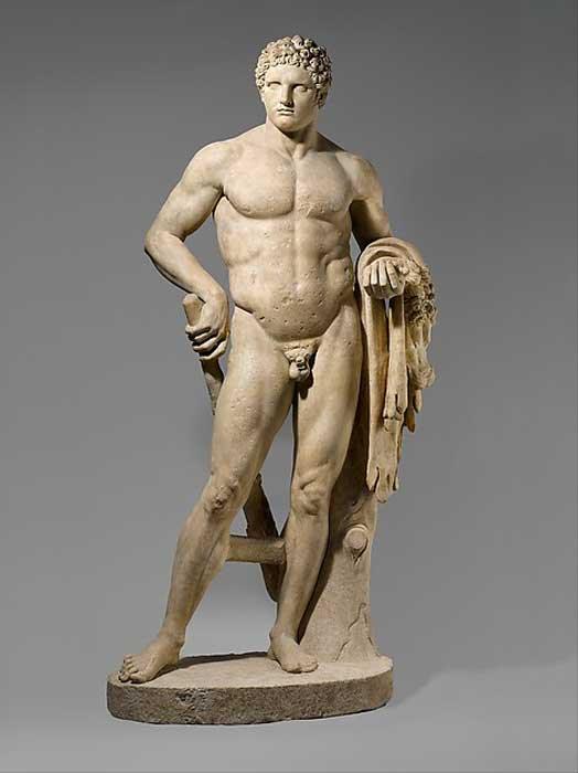 ¿Es posible que la colosal estatua de Hércules del antiguo templo de Ammán se pareciera a ésta, expuesta en el Museo Metropolitano de Nueva York?