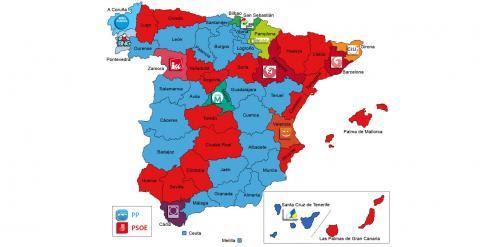 el mapa del poder municipal