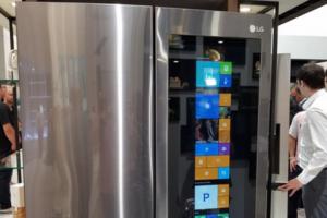 IFA 2016 : Un réfrigérateur connecté Windows 10 signé LG