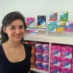 Virginie Pré, cofondatrice de Wishu, société basée à Shanghai et spécialisée dans les produits d'hygiène féminin.