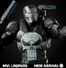 Marvel Comics 80th Anniversary Marvel Legends Variant War Machine