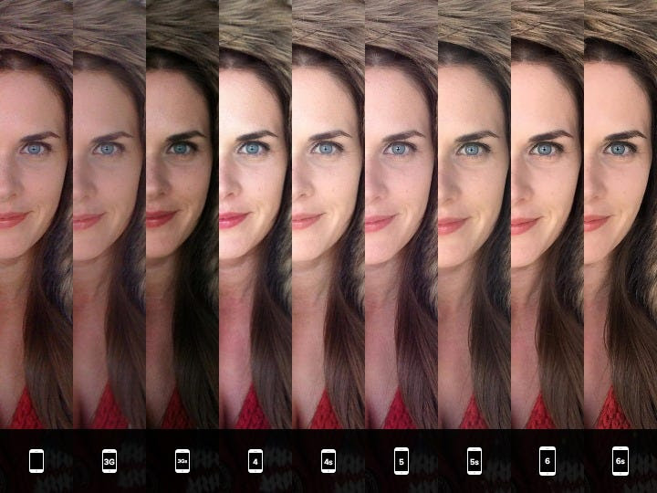Portraits are also an excellent example of gauging camera improvements.