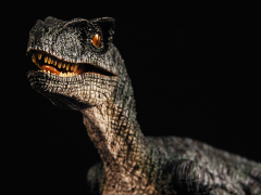 "VELOCIRAPTOR ""PETE"" 1/18 SCALE REPLICA"