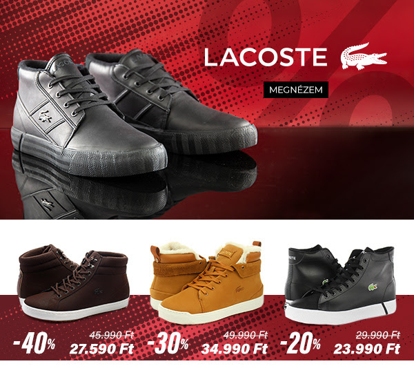 OFFICE NAPOK! - Lacoste
