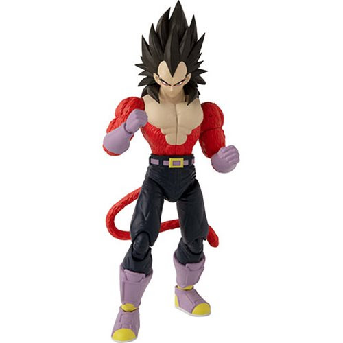 Image of Dragon Ball Super Dragon Stars Series 13 Super Saiyan 4 Vegeta Action Figure