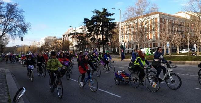 Bicipiquete por Madrid. (F. GRODIRA)