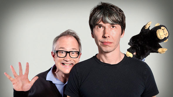 Professor Brian Cox and Robin Ince