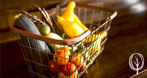 Selbstversorgung durch den eigenen Garten - Gartenbista.de - Gemüseinkauf