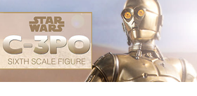 STAR WARS 1/6 SCALE C-3P0 FIGURE