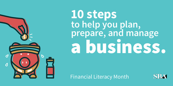 celebrate Financial Literacy Month with the SBA