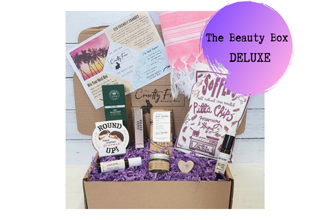 Beauty Subscription Box, Cruelty Free, Vegan & Plastic Free with Lifestyle Products & Snacks
